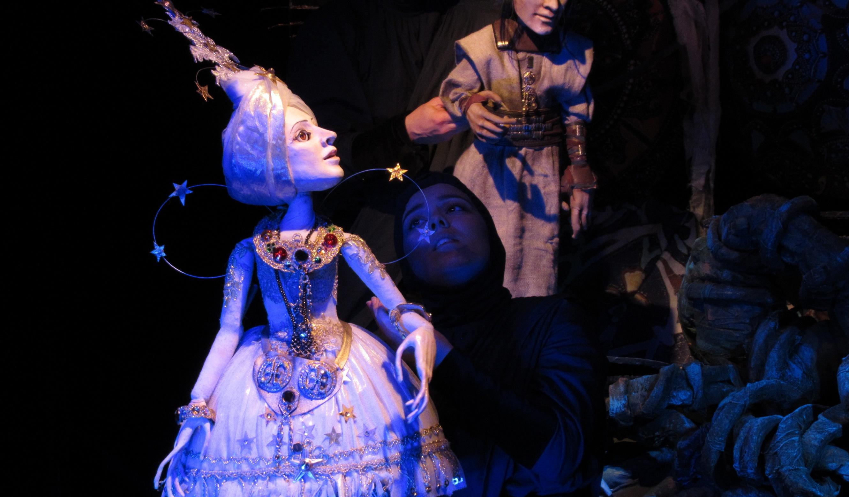 Фотография со спектакля «Тайна белого лотоса»