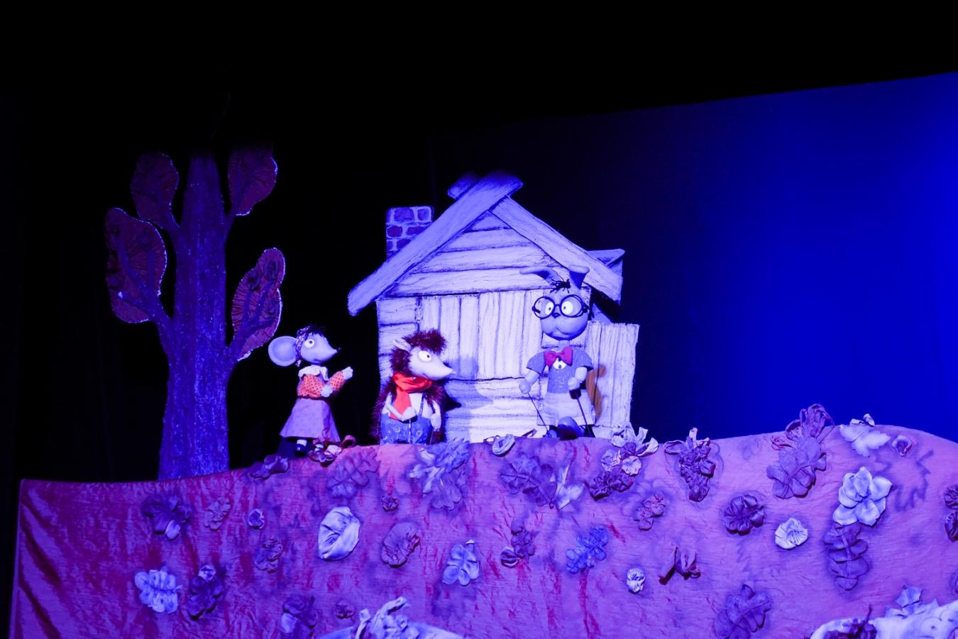 Фотография с гастролей Красноярского театра кукол