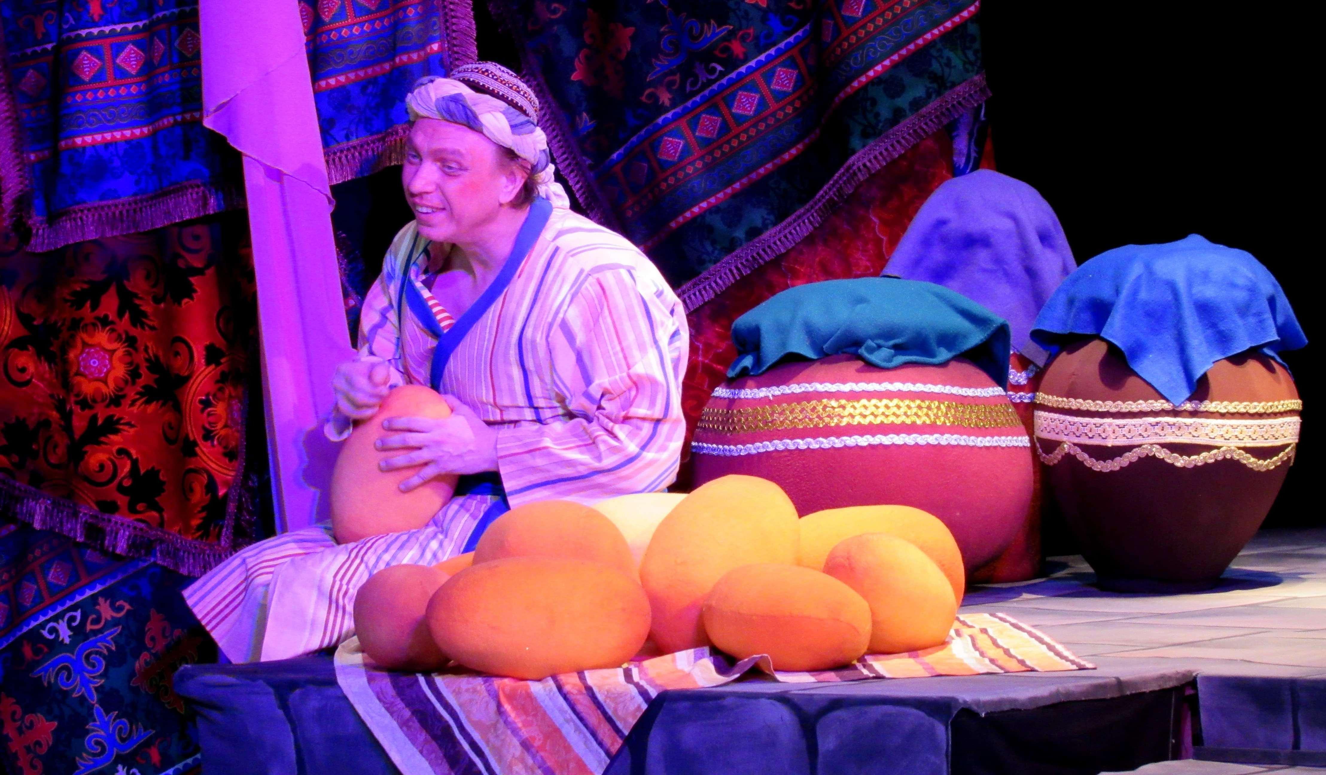 Фотография спектакля Волшебная лампа Аладдина