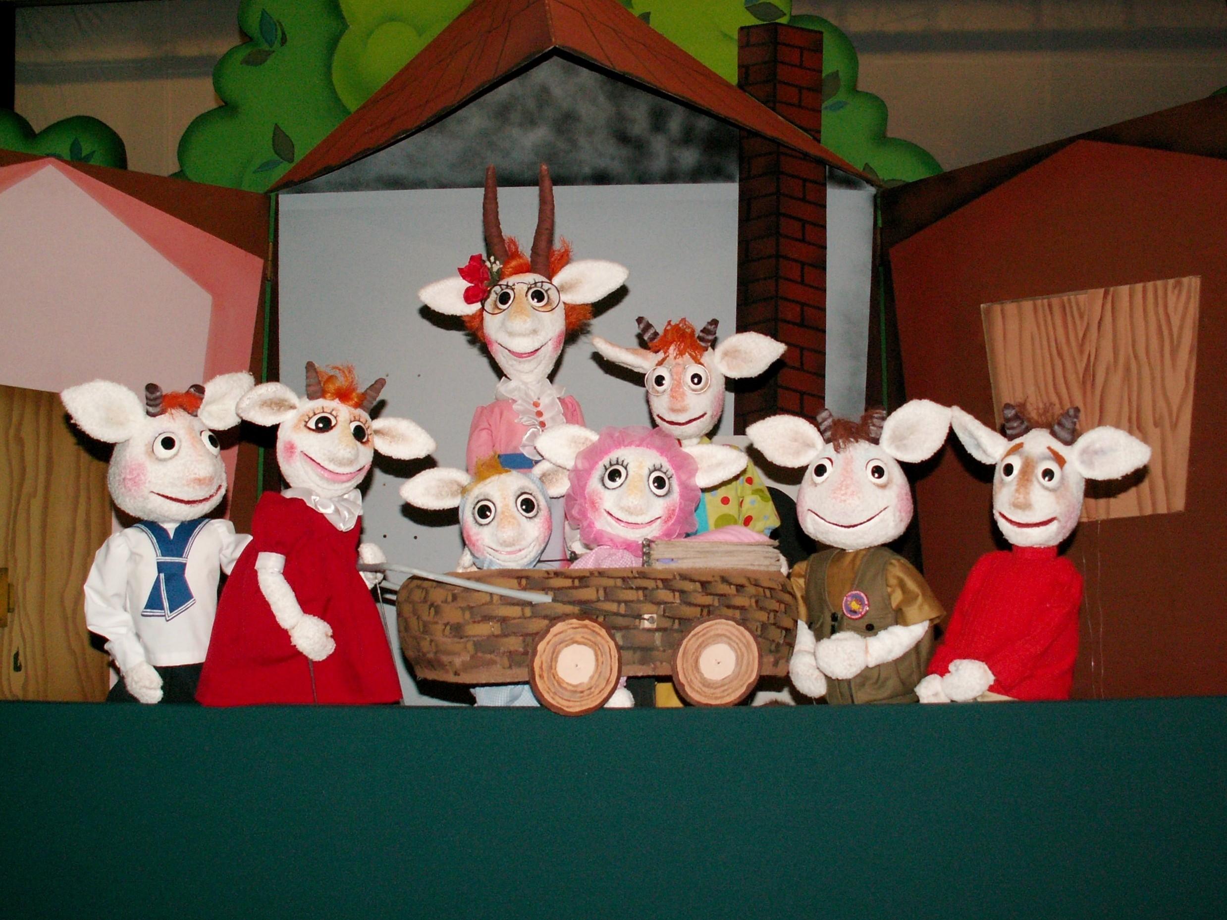Спектакль Про козу, козлят и волка