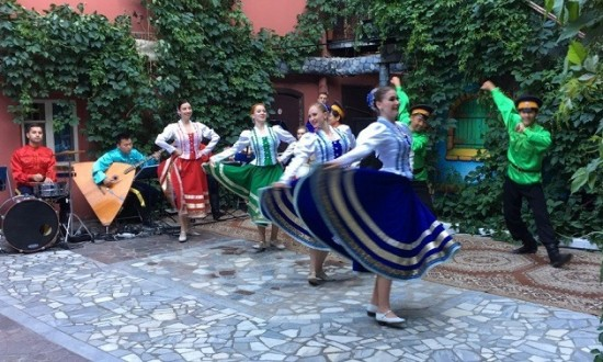 Мастер-класс от Губернаторского ансамбля песни и танца