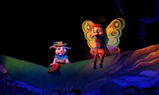 В театре кукол состоялась премьера «Трёх поросят»