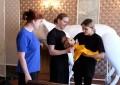 Репетиции спектакля «Сказка о Крошечке-Хаврошечке»