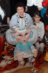 Актриса театра Алла Севастьянова встречает юбилей на сцене