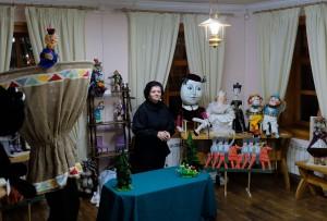 в музейно-культурном центре «Дом купца Г.В. Тетюшинова» торжественно открылась выставка «И… оживают куклы»