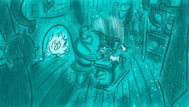 Кадр из мультипликационного фильма