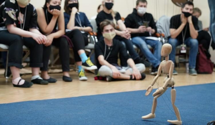 Артист Астраханского театра кукол принял участие в арт-лаборатории в Москве