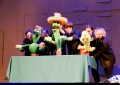 Концертный номер с кактусами